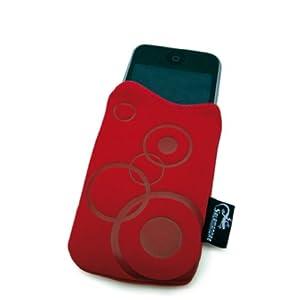 Omenex Salamandre Pochette pour universel Rouge