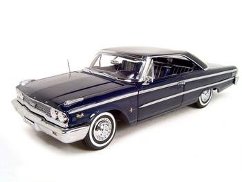 1963 Ford Galaxie 500 Blue 1:18 Scale Diecast Model - Buy 1963 Ford Galaxie 500 Blue 1:18 Scale Diecast Model - Purchase 1963 Ford Galaxie 500 Blue 1:18 Scale Diecast Model (SUN STAR, Toys & Games,Categories,Hobbies,Die-Cast)