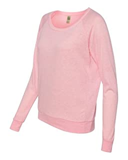 Alternative AA1990 Ladies' Slouchy Pullover - ECO PINK RIBBON - X-Large