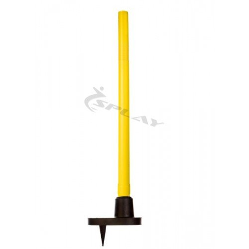 Splay Cricket Target Stump - Plastic (Yellow)