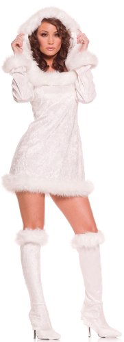 Underwraps Carnival Women's Snow Bunny Adult Costume