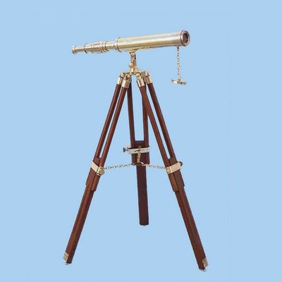 Floor Standing Harbor Master Decorative Telescope