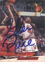 Glen Rice Miami Heat 1993 Fleer Ultra Autographed Hand Signed Trading Card. by Hall+of+Fame+Memorabilia
