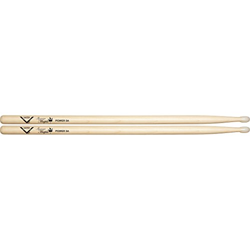 Vater Percussion Vsmp5An Sugar Maple Power 5A Nylon Tip Drumsticks