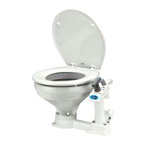 Jabsco 29120-2000 Marine Manual Marine Toilet (Regular Bowl)