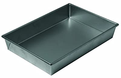 Chicago Metallic Non-Stick Bake 'N Roast Pan, 13 by 9 by 2-1/4-Inch