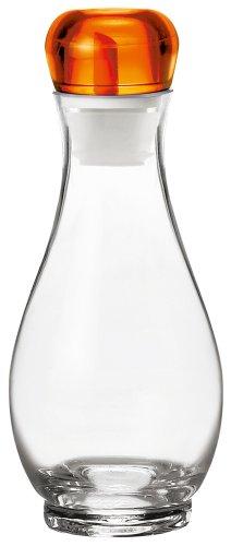Guzzini GU-2313.01-45 Bolli Oil and Vinegar Cruet, 17-Ounce, Orange