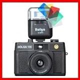 HOLGA135CUCFSET  HOLGA(ホルガ)トイカメラ HOLGA135カラーフラッシュセット(クローズアップレンズ付き)HOLGA135CUCFSET おまけ付き