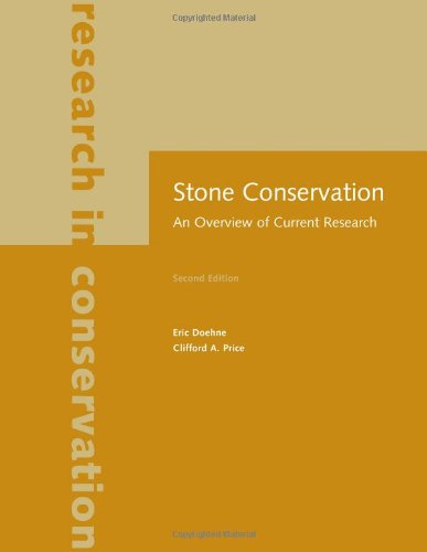 Stone Conservation: An Overview Of Current Research (Readings In Conservation)