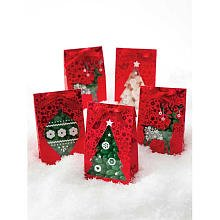 Martha Stewart Crafts Holiday Scandinavian Ornament Treat Bags
