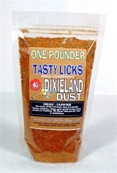 Tasty Licks BBQ Supply Dixieland Dust Creole/Cajun Seasoning - One Pound