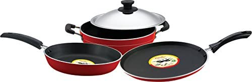 Pigeon Carlo Induction Base Non-Stick Gift Set, 4 Piece