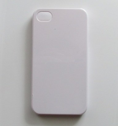 DIY White Hard Snap-on Cover Case for Apple Iphone 4/4s --- By Pixiheart