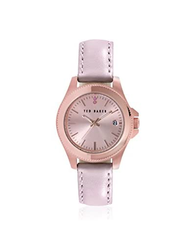Ted Baker Women's TE2113 Classic Charm Pink Leather Watch