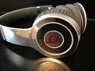 Chrome Skin For Beats By Dre Solo (Headphones Not Included)