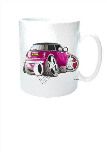 taza-de-ceramica-de-koolart-rosa-mini-cooper