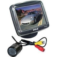 Pyle Plcm35 3.5-Inch Tft Lcd Monitor/Night Vision Rear View Camera