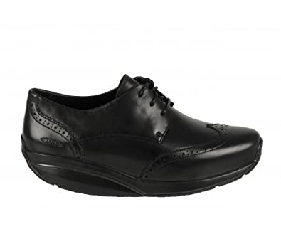 online retailer 002b6 21afd MBT Raawiya Black Ladies Dress Shoe Shoes
