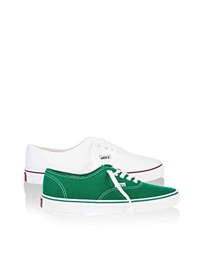 Andy Z Sneaker (x 2 p.) [Bianco/Verde]