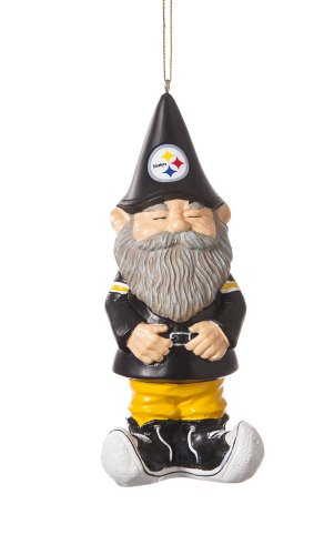 Pittsburgh Steelers Gnome Ornament from Scottish Christmas