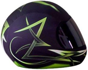 SkullSkins Tribal Motorcycle Helmet Street Skin