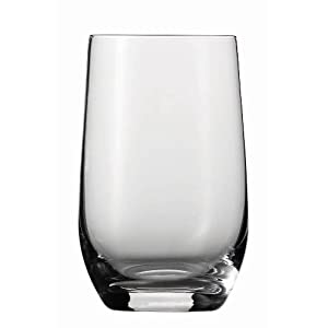 Schott Zwiesel Tritan Crystal Glass Banquet Barware Collection Beer Tumbler/Highball, 10.8-Ounce, Set of 6