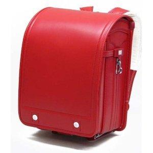 フィットちゃん クラリーノランドセル 背中:牛革仕様 カラー:赤