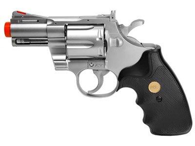 UHC 939 2.5 inch barrel revolver, Silver/Black airsoft gun