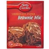 Betty Crocker Chocolate Fudge Brownie Mix 415g (UK)