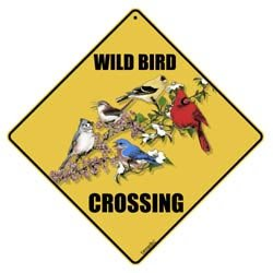 Bird Crossing Signs - Wild Bird Xing Sign