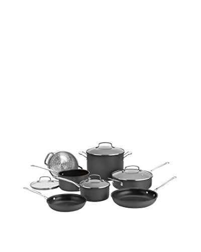 Cuisinart Chef's Classic 11-Piece Nonstick Cookware Set, Black
