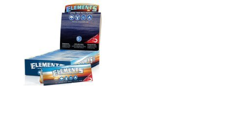 3 Packs of Elements Ultra Thin Rice Rolling Papers + Special Offer - 50 Papers Per Pack! 150 Total Papers! Made to Burn Extra Slow! Has Magnet to Keep Pack Closed! Virtually Zero Ash! - Made to Burn Extra Slow & Even!