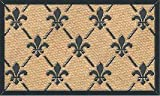 MILLIARD 'Fleur De Lis' Eco-Friendly Decorative Coco Coir 18