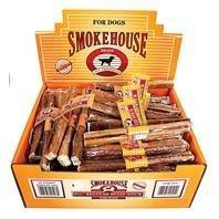 Smokehouse Pet Products Dsm50503 60-Pack Bully Dog Treat Stick Shelf Display Box, 6-1/2-Inch