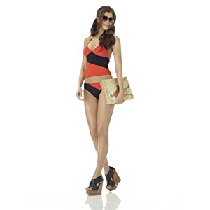 Colorblock Tankini