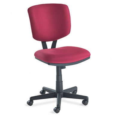 HON HON5703GA62T Volt Task Chair, With Dual-Action Synchro-Tilt, 5700 Series, Burgundy Fabric With Black Base