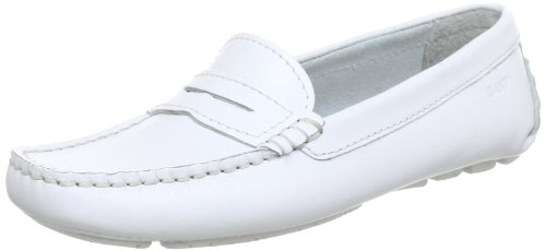 Gant Jolie white leather Moccasins Women White Weià (white) Size: 3.5 (36 EU)