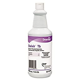 DiverseyTM 4277285 - OXIVIR TB ONE-STEP DISINFECTANT CLEANER, 32 OZ BOTTLE, 12/CARTON