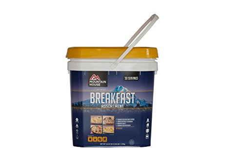 Mountain House Just In Case...Breakfast Bucket (Emergency Dry Food compare prices)