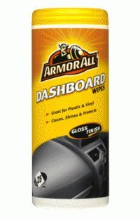 Armorall Dashboard Wipes - Gloss finish