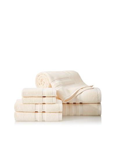 Chortex Irvington 7-Piece Towel Set, Cream