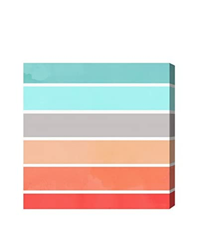 Oliver Gal Coral Sprouts Canvas Art