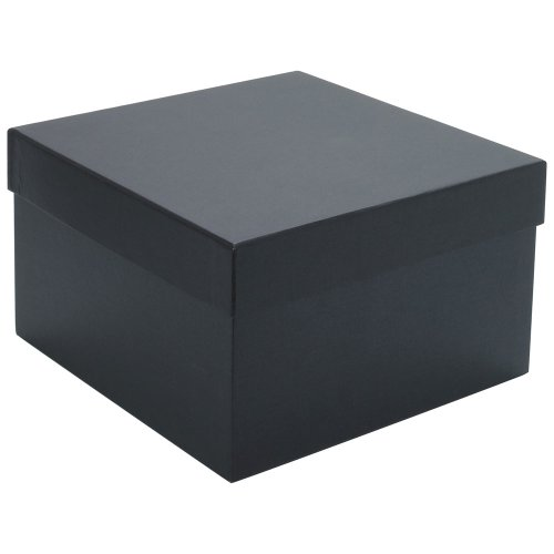 Paperchase medium black gift box