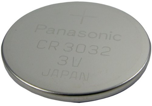 3-Volt Lithium Coin Battery (CR3032) Case Pack 3