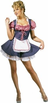 Farmer's Daughter Costume - X-Small - Dress Size 2-6