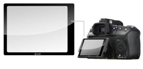 GGS LCD Glass Screen Protector For Canon 7D High
