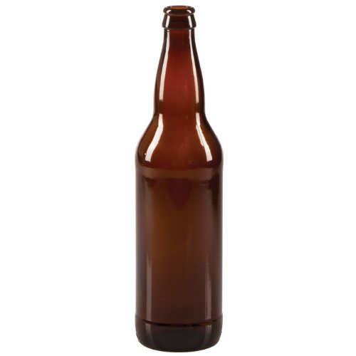 22 oz Beer Bottles- AMBER- Case of 12 (22 Ounce Beer compare prices)