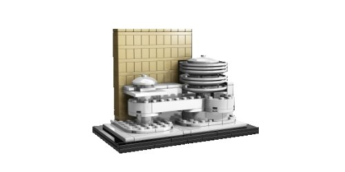 LEGO Architecture Solomon R. Guggenheim Museum (21004) Amazon.com