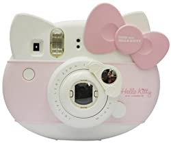[Fujifilm Instax Mini Hello Kitty Selfie Lens] -- CAIUL Car Style Instax Mini Close Up Lens with Self-portrait Mirror For Instax Mini Hello Kitty Instant Camera, White