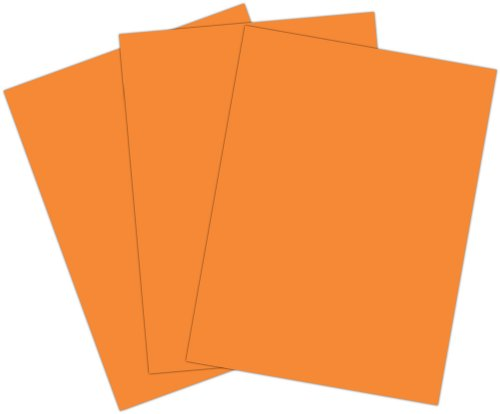 Roselle 9x12 Vibrant Construction Paper, 50 count, Orange (CON1591250) - 1